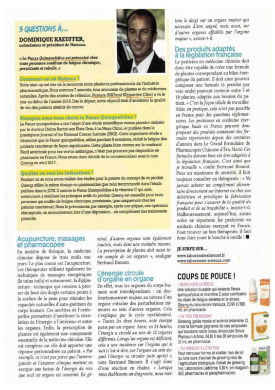 article cote sante natsuca